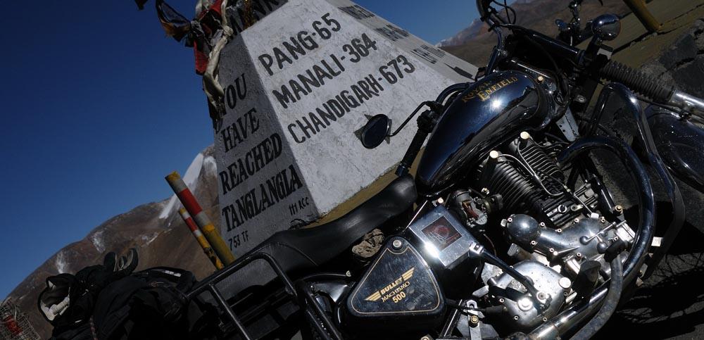 Le col du Tanglang La, Inde Himalaya - Mini trip au Ladakh en moto Royal Enfield