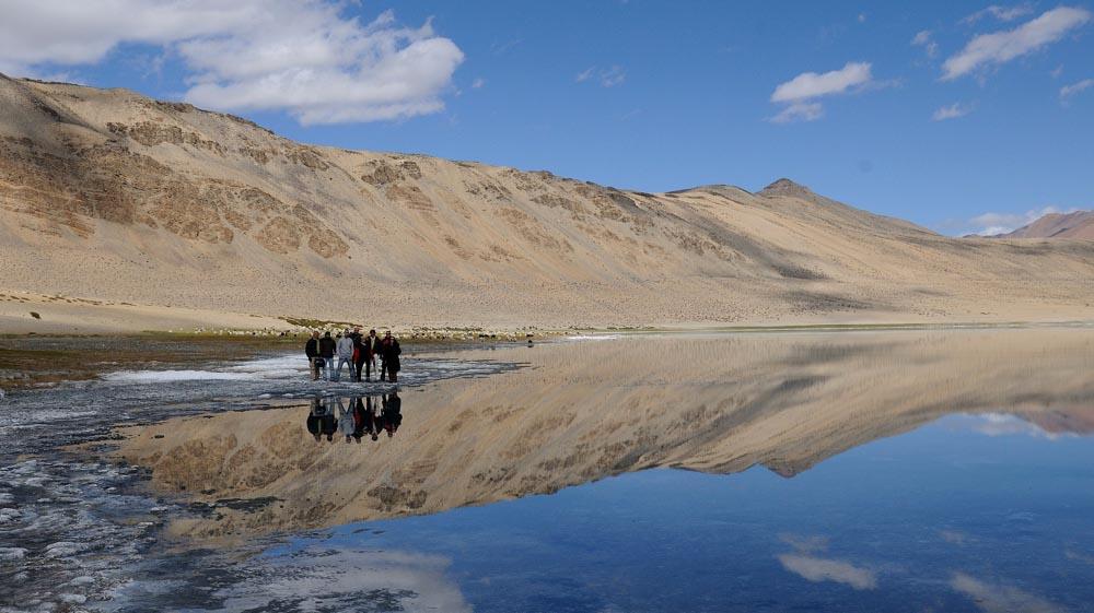 Lac Tsokar en Royal Enfield - Voyage moto au Ladakh, Inde himalayenne