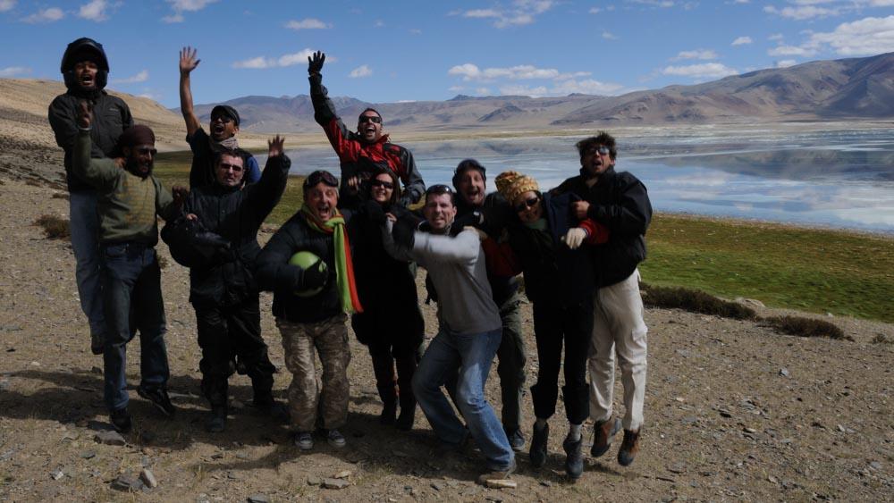 Lac Tsokar - Voyage moto au Ladakh, Inde, Himalaya en Royal Enfield