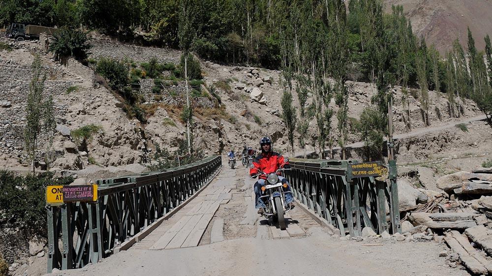 Road trip moto au Ladakh, Inde, Himalaya en Royal Enfield