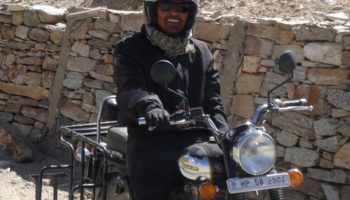 Mini trip en Royal Enfield au Ladakh - Nubra vallée avec Thinley le guide moto, Inde, Himalaya