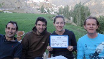 Mini trip moto au Ladakh, Inde, Himalaya en Royal Enfield