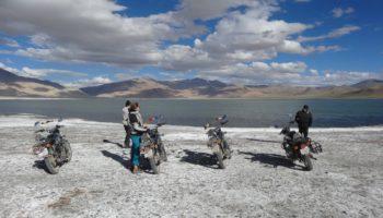 Tsokar en Royal Enfield, Ladakh - Voyage moto en Himalaya indienne