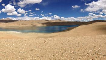 Lac Tso kiagar en Royal Enfield - voyage moto en Inde, Himalaya, Ladakh