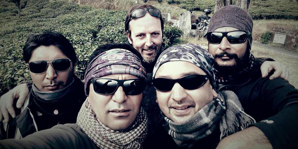 L'équipe Himalayan Bikers - Voyage moto Inde Himalaya et Inde du sud