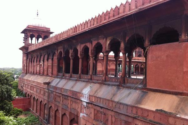 Fort rouge à Delhi - Voyage en moto Royal Enfield en Inde