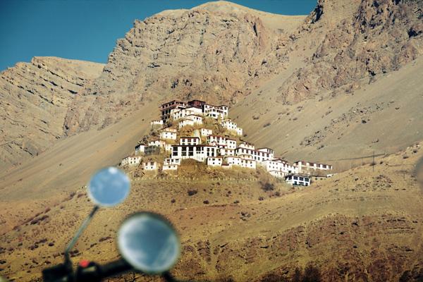 Monastère de Kibber - Voyage moto du Kinnaur au Spiti, Himachal pradesh, Inde, Himalaya