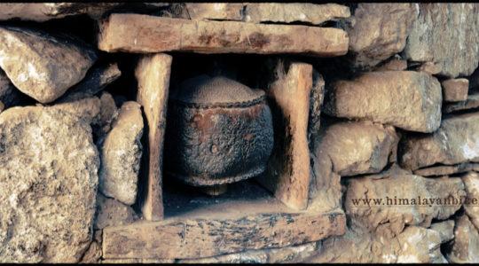 Moulin à prière au Spiti - Voyage moto du Kinnaur au Spiti, Himachal pradesh, Inde, Himalaya