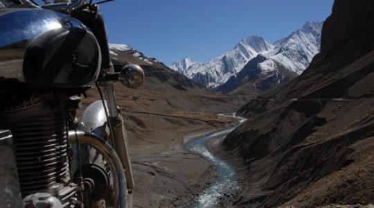 Royal Enfield au Spiti - Voyage moto du Kinnaur au Spiti, Himachal pradesh, Inde, Himalaya
