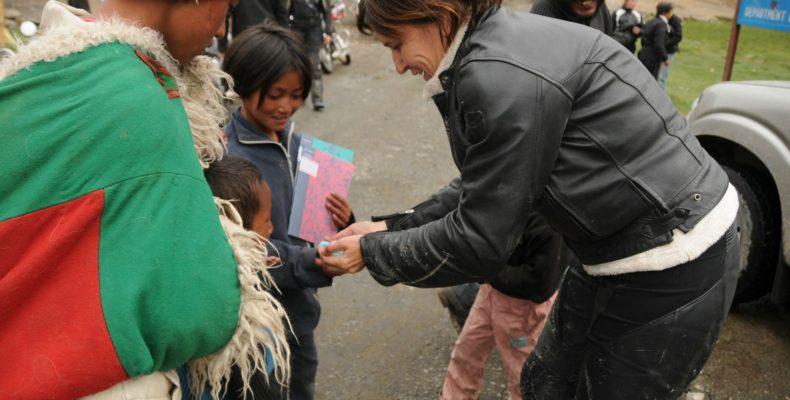 Enfant Ladakhi - Voyage moto au coeur du Ladakh, Inde, Himalaya