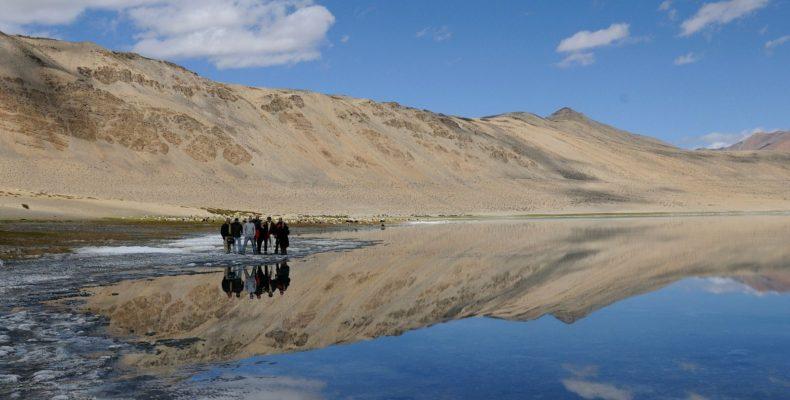 Lac Tsokar - Voyage moto au coeur du Ladakh, Inde, Himalaya