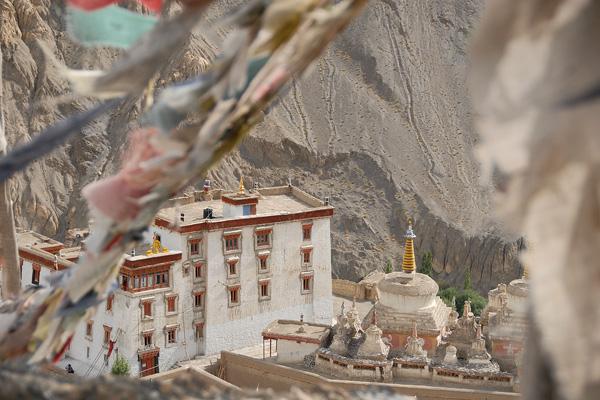 Monastère de Lamayuru - Voyage moto au coeur du Ladakh, Inde, Himalaya