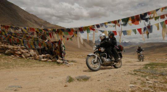 Col du Polokonga au Ladakh - Voyage à moto Transhimalayenne et Ladakh, Inde, Himalaya