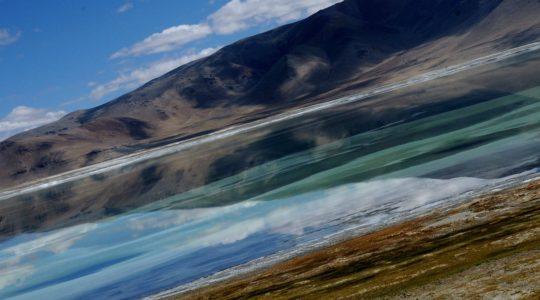 Lac Tsokar - Voyage à moto Transhimalayenne et Ladakh, Inde, Himalaya