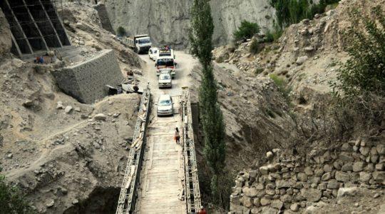 Pont à Kalse dans la vallée de l'Indus - Voyage à moto Transhimalayenne et Ladakh, Inde, Himalaya