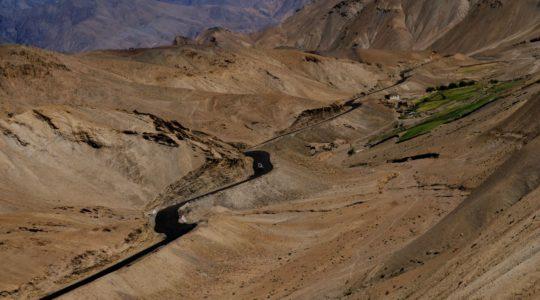 Route du col du Fotula - Voyage à moto Transhimalayenne et Ladakh, Inde, Himalaya