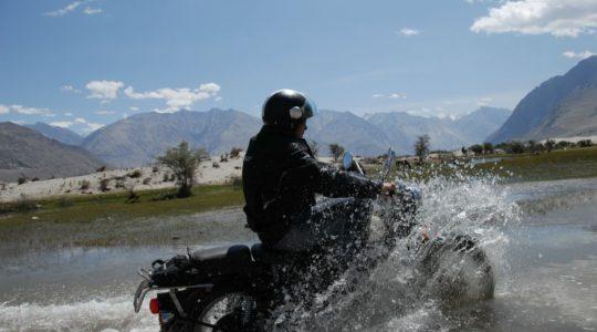 Vallée de la Nubra en Royal Enfield - Voyage à moto Transhimalayenne et Ladakh, Inde, Himalaya
