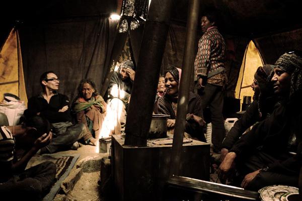 Rencontre avec les Nomades - Voyage moto au coeur du Ladakh, Inde, Himalaya