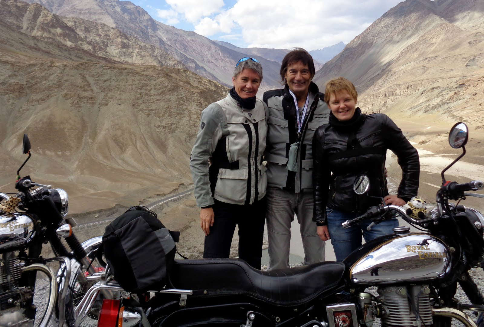 Voyage moto Transhimalayenne et Ladakh en Royal Enfield – Photo de Jean-Louis