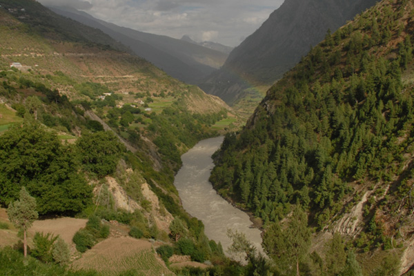 Vallée de la Chandra, Lahaul - Voyage à moto Transhimalayenne et Ladakh, Inde, Himalaya
