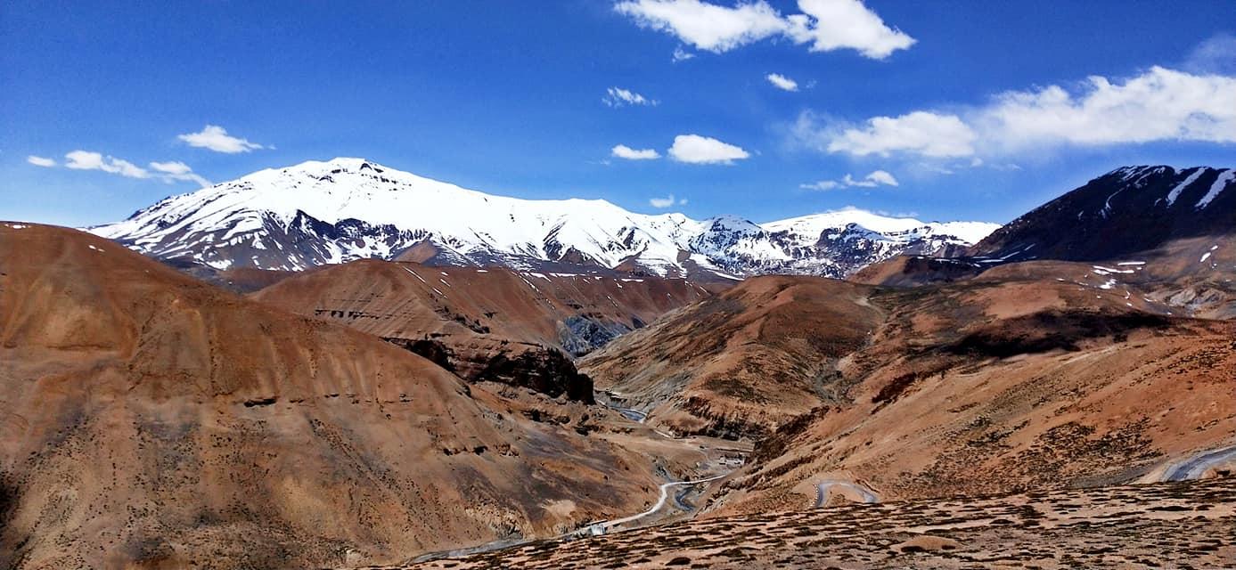 Route vers le Sarchu - Road trip moto Transhimalayenne - Inde Ladakh