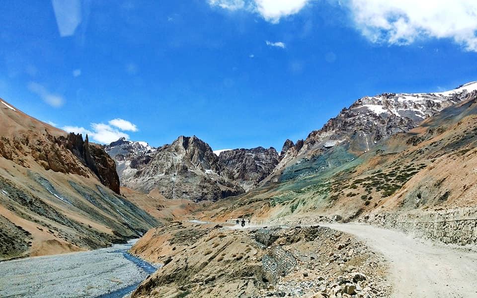 Route vers le Nakeela - Road trip moto Transhimalayenne - Inde Ladakh