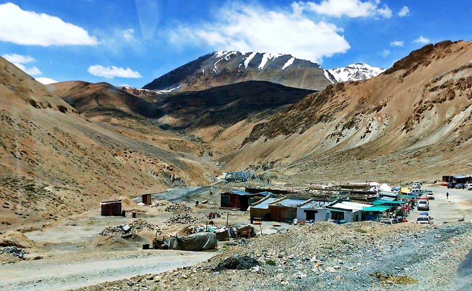 Camp militaire de pang - Road trip moto Transhimalayenne - Inde Ladakh