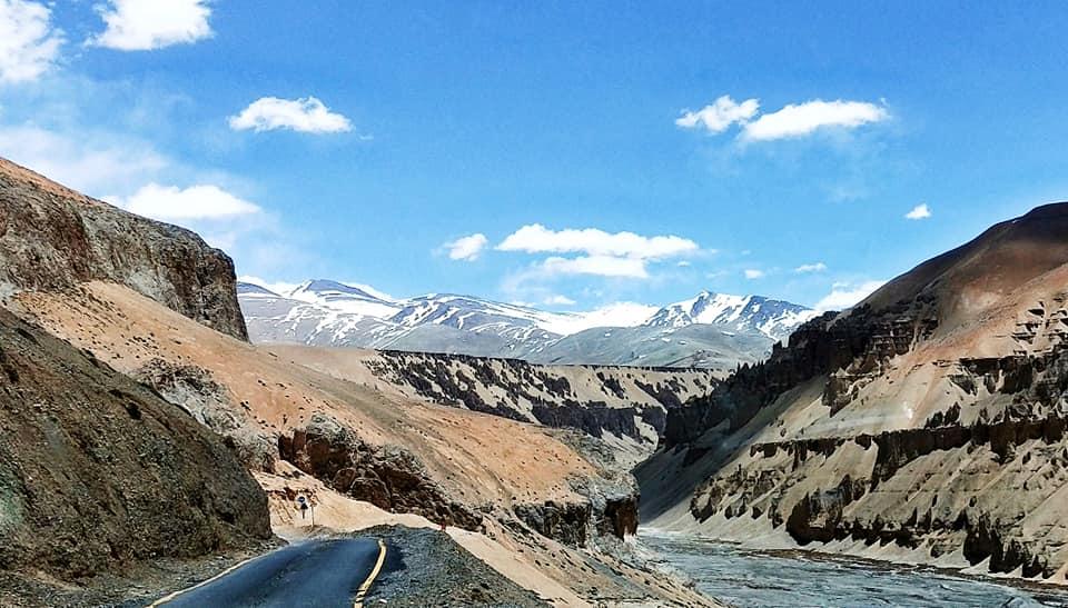 Les gorges de Pang - Road trip moto Transhimalayenne - Inde Ladakh